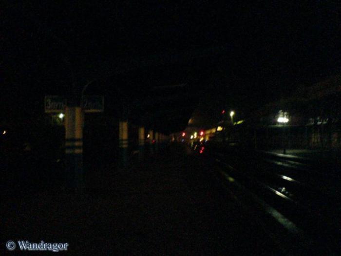 Перрон, железнодорожный вокзал, Черняховск