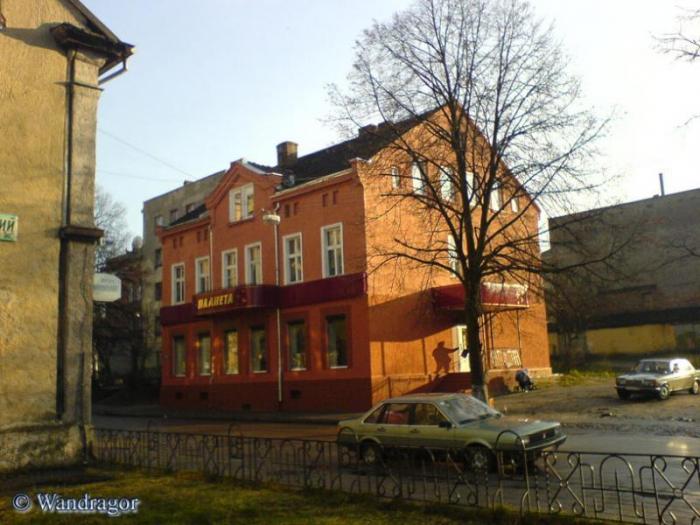 Здание на улице Тольятти, Черняховск