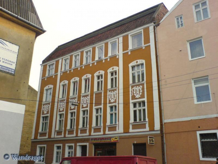 Здание на улице Госпитальной, Черняховск