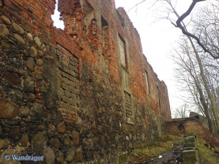 Замок Инстербрг (восточная сторона), Черняховск