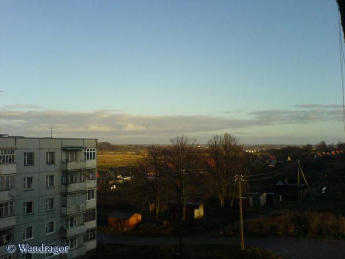 Вид из окна (ул. Черняховского), Черняховск