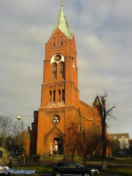 Свято-Михайловского храм (вид с улицы Суворова), Черняховск