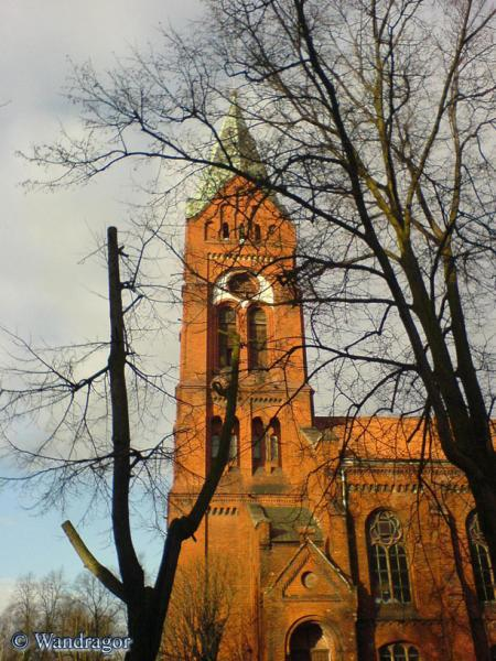 Свято-Михайловского храм (вид с переулка Суворова), Черняховск