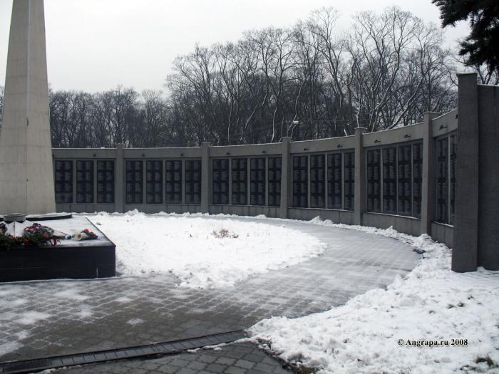 Памятник воинам, погибшим в боях у Инстербурга, Черняховск