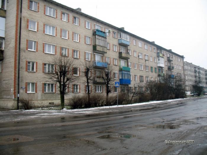 Улица Льва Толстого, Черняховск