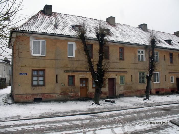 Улица Разина, Черняховск