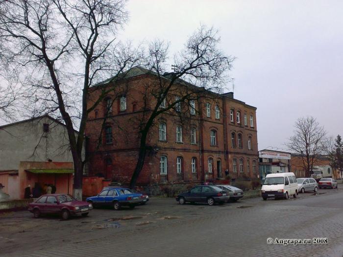 Улица Октябрьская (рядом с мясокомбинатом), Черняховск