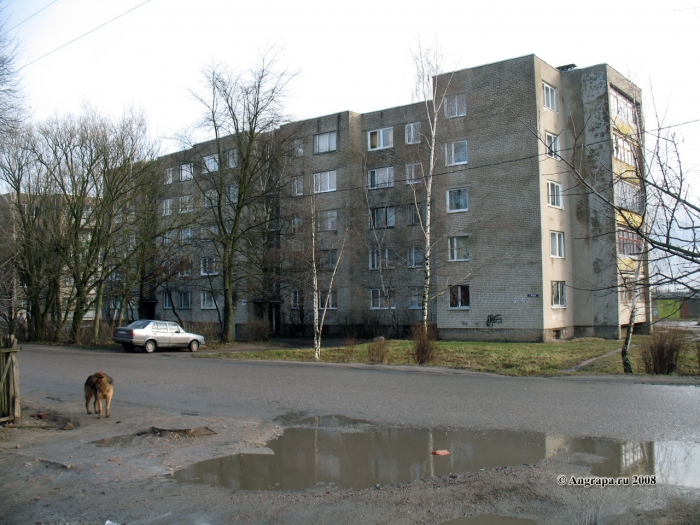 Улица Победы, Черняховск