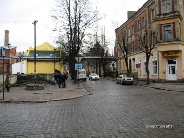 Перекресток улиц Крупской и Пионерской, Черняховск