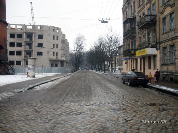 Улица Гагарина (рядом с водонапорной башней), Черняховск