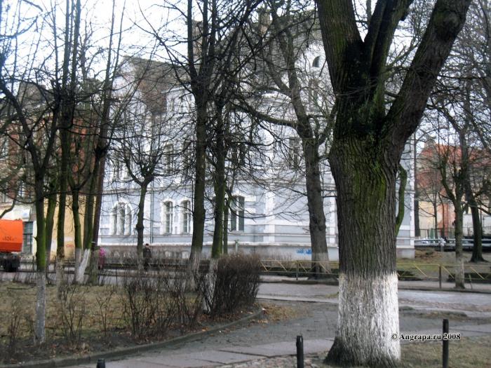 Здание художественной школы (улица Пионерская), Черняховск
