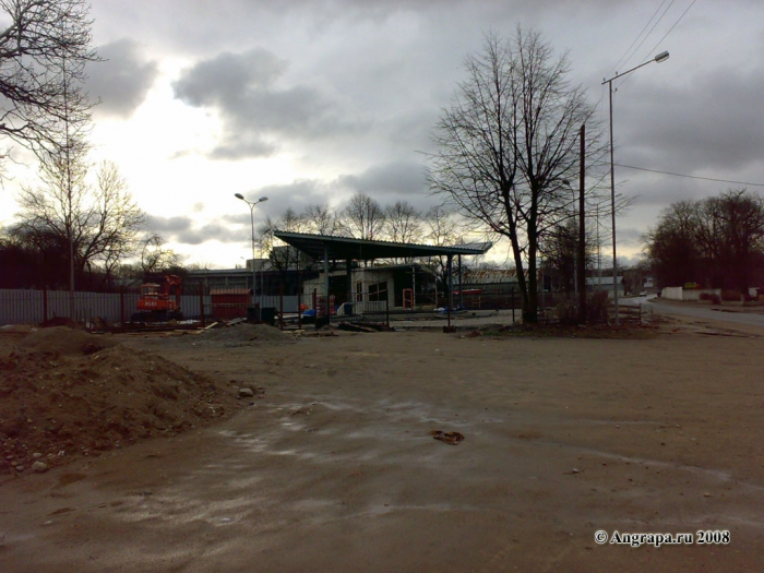 АЗС (улица Октябрьская, напротив мясокомбината), Черняховск