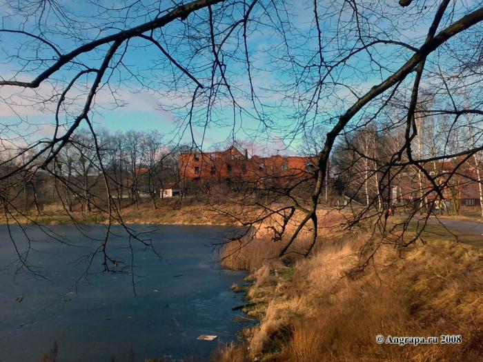 Замковый пруд и замок Инстербург, Черняховск