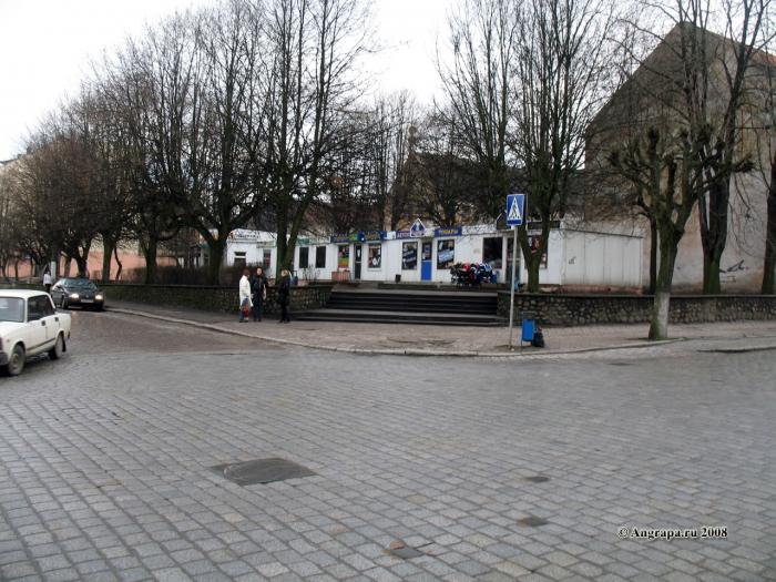 Перекресток улиц Спортивная и Ленина, Черняховск