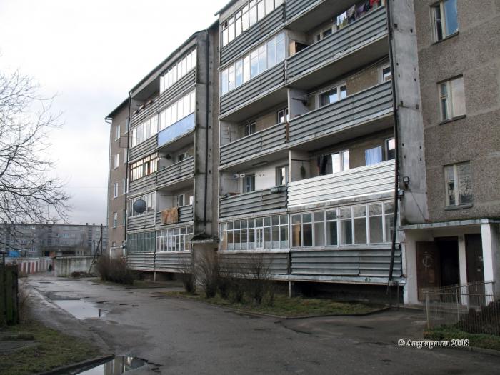 Жилой дом по улице Черняховского, Черняховск