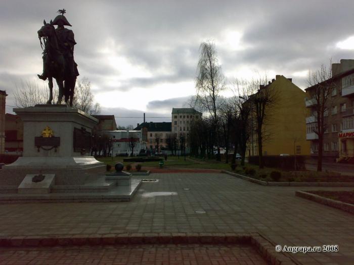 Памятник Барклаю-де-Толли и сквер, Черняховск