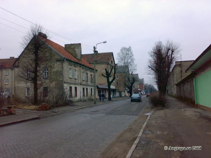 Улица Ленинградская, Черняховск