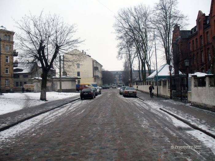Улица Спортивная (рядом с водонапорной башней), Черняховск
