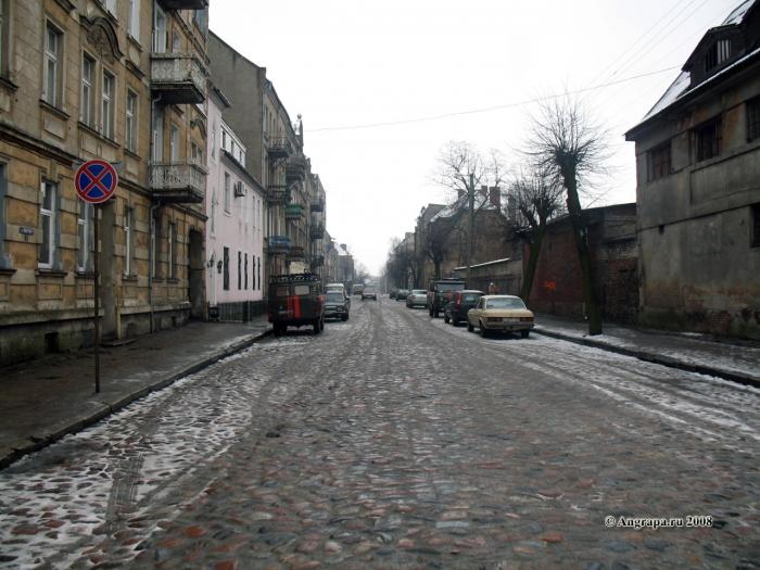 Улица Советская, Черняховск