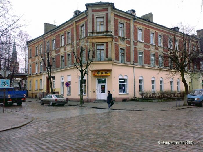Перекресток улиц Крупской и Пионерская, Черняховск