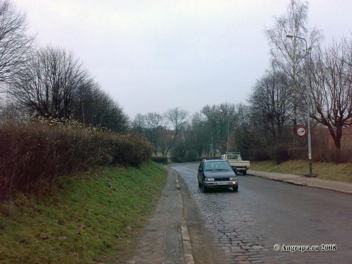 Улица Партизанская, Черняховск