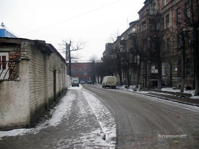 Улица Заводская, Черняховск