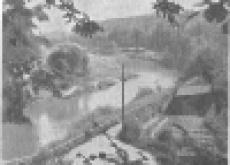 Сады Инстербурга во времена стародавние и не очень