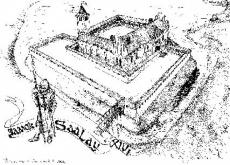 Замок Заалау. То, что было на месте руин